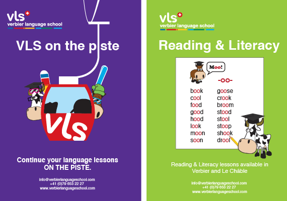 Work for VLS includes poster design, brochures, web material and T-shirt design
